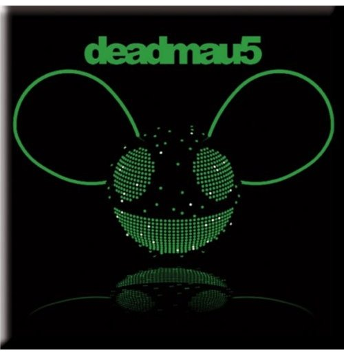 Image of Deadmau5 - Green Head (Magnete Metallo)