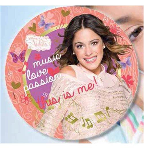 Image of Violetta Music Passion - Set 8 Piatti Cm 23