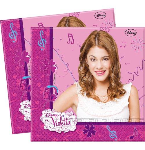 Image of        Violetta - Set 20 Tovaglioli Di Carta