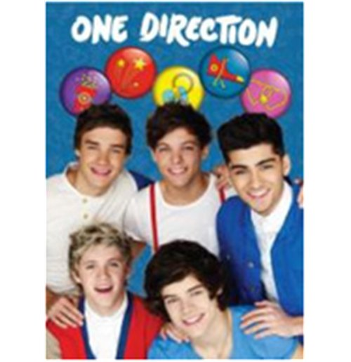 Image of One Direction - Softback Notebook Formato A4