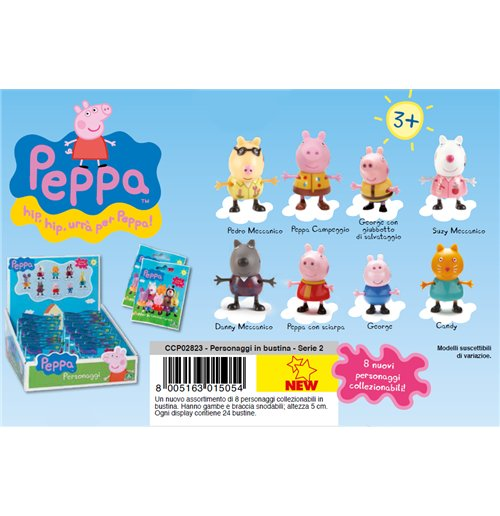 Image of Peppa Pig - Mini Personaggio Ass. 2 - Bustina 1 Pz