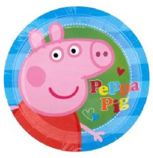 Image of Peppa Pig  - 8 Piatti 23 Cm.