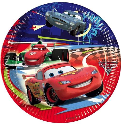 Image of Cars 2 - Set 10 Piatti Cm 20