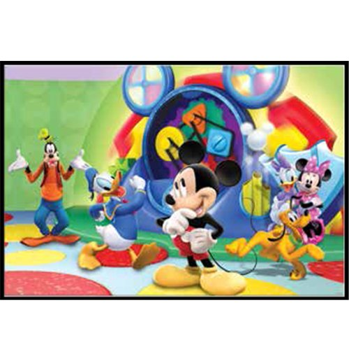 Image of Casa Di Topolino (La) - Puzzle Double-Face Plus 60 Pz