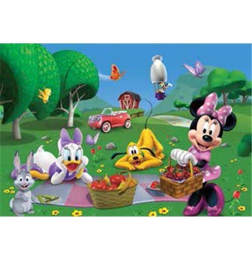 Image of Casa Di Topolino (La) - Minnie Picnic - Puzzle Double-Face Plus 250 Pz