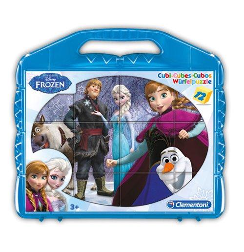 Image of Frozen - Puzzle Cubi 12 Pz