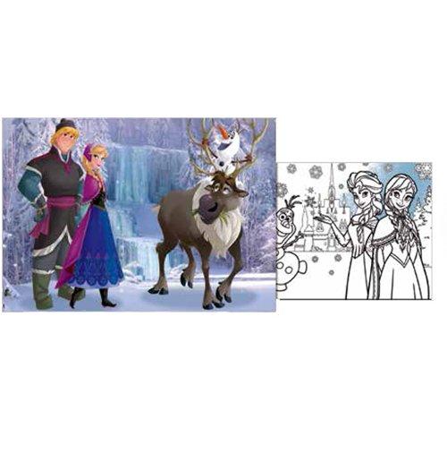 Image of Frozen - Puzzle Double-Face Plus 60 Pz