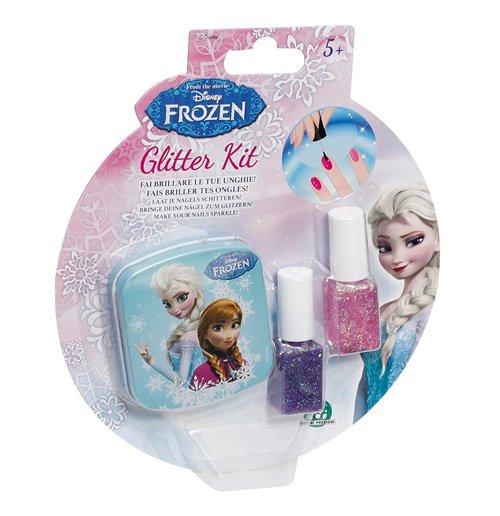 Frozen - Glitter Kit per Unghie - Blister 2 Smalti...