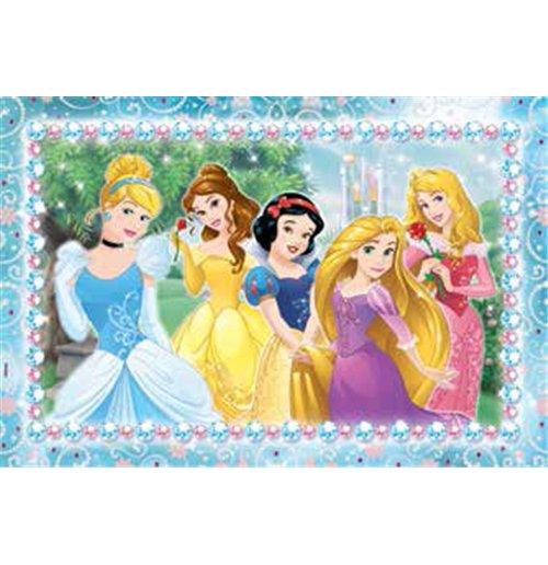 Image of Principesse Disney - Puzzle Double-Face Plus 108 Pz