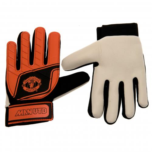 Manchester United F.C. Goalkeeper Gloves Fluo Yths