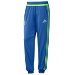 2015-2016 Ajax Adidas Sweat Pants (Blue)