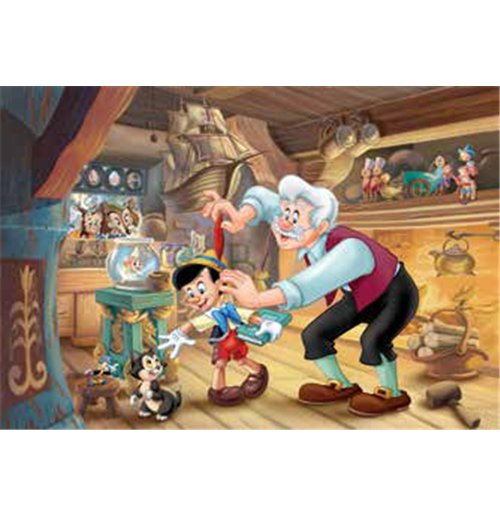 Image of Pinocchio - Puzzle Double-Face Plus 108 Pz
