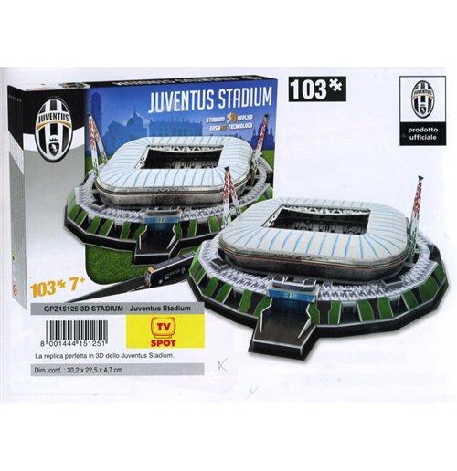 Image of Nanostad 3D Stadium Puzzle - Juventus Stadium