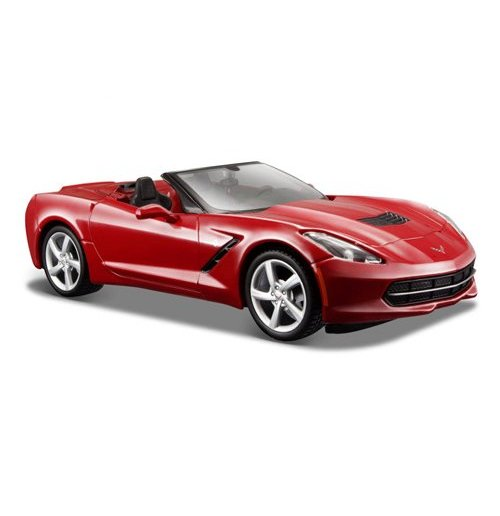 Image of Maisto - 2014 Corvette Stingray Coupe 1:24 (Rossa / Blu)