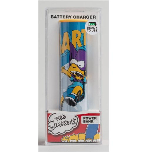 Image of Simpsons - Power Bank Bartman (2600 mAh)
