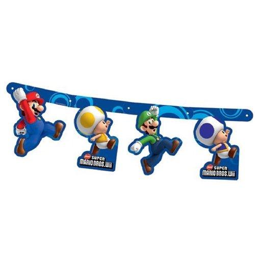 Image of Super Mario Bros - Bandierine