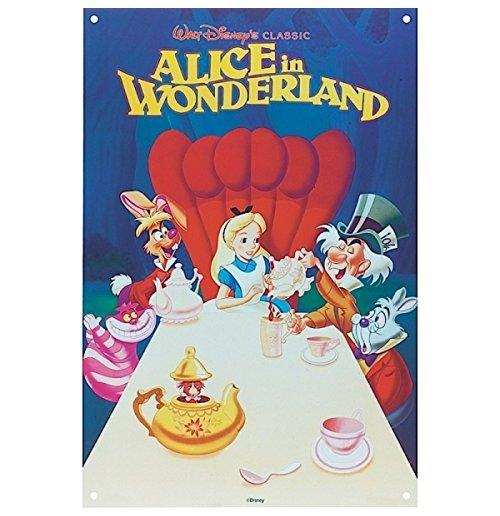 Image of Disney Film Posters - Alice NelPese Delle Meraviglie / Alice In Wonderland (Targa Acciaio)