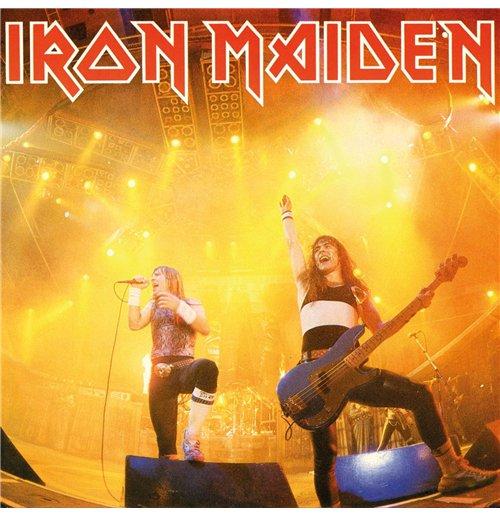 "Image of Vinile Iron Maiden - Running Free (Live) (7"")"
