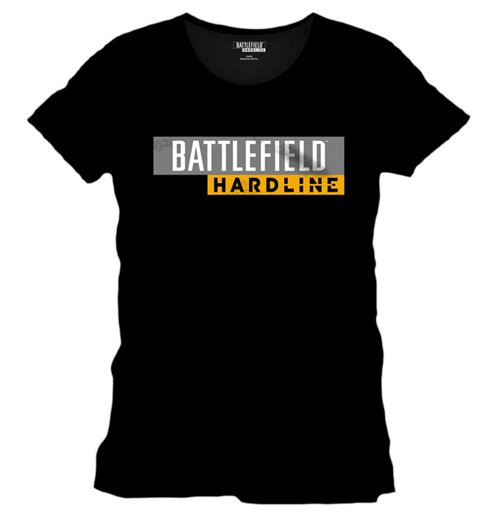 Image of Battlefield Hardline - Hardline Logo Black (T-SHIRT Uomo )