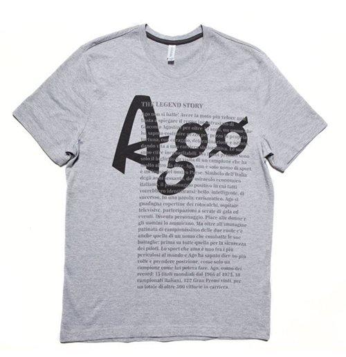Image of Giacomo Agostini - History Grey (T-SHIRT Uomo )