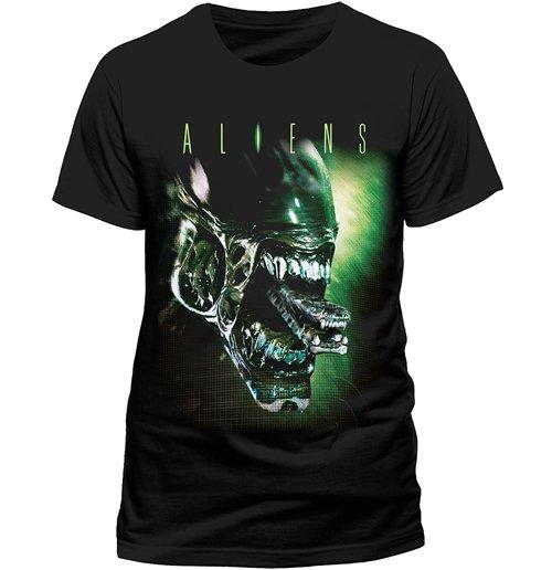 Image of T-shirt Aliens - Alien Head