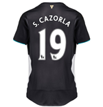 2015-2016 Arsenal Third Cup Shirt (S.Cazorla 19) - Kids