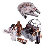 star-wars-papercraft-figuren-set-millennium-falcon-vehicle-pack