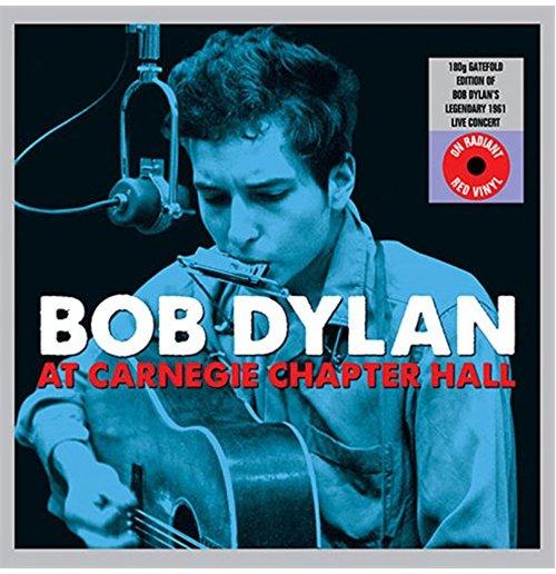 Image of Vinile Bob Dylan- At Carnegie Chapter Hall (Gatefold Red Vinyl) (2 Lp)