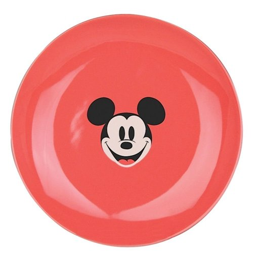 Image of Piatto Piccolo Disney - Mickey And Minnie Kitchen - Mickey Mouse Pink