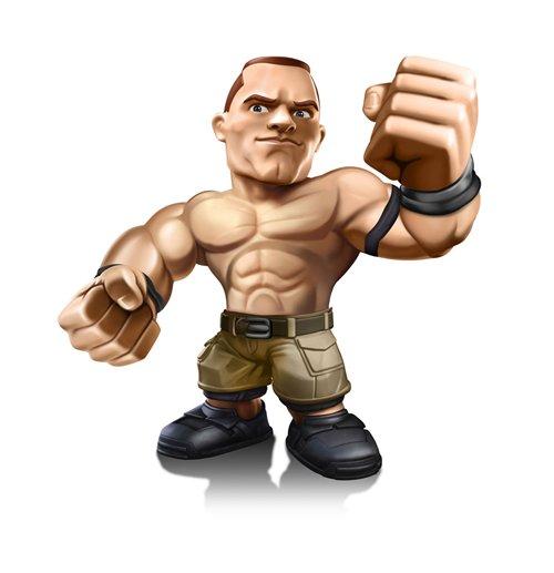 Image of Pupazzo WWE John Cena 8 cm