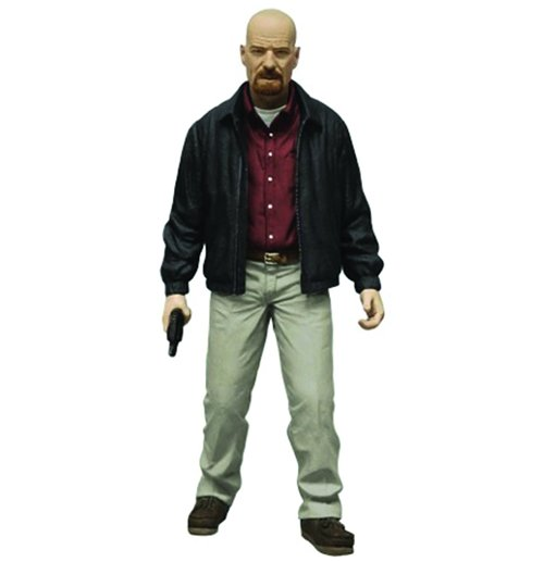 Image of Statuetta Breaking Bad Heisenberg Red Shirt Variant Previews Exclusive 15 cm