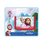 Coffret Cadeau Montre+Portefeuille La Reine des Neiges (Frozen)