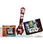 Coffret Cadeau Montre+Portefeuille Star Wars