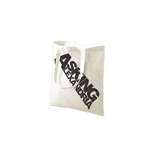 Image of Asking Alexandria - Logo (Natural) (Borsa Cotone)