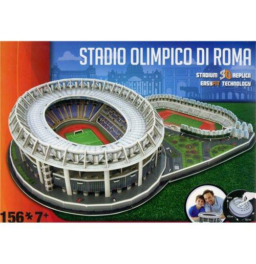 Image of Nanostad 3D Stadium Puzzle - Roma Stadio Olimpico