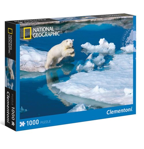Image of Puzzle - National Geographic 1000 Pz - Giovane Orso Polare