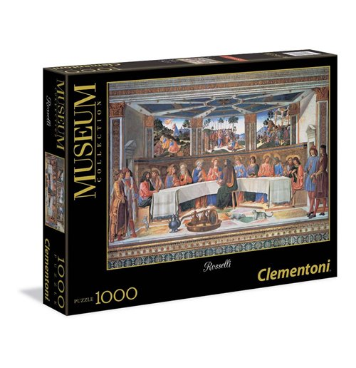 Image of Puzzle - Vaticano 1000 Pz - Rosselli - L'Ultima Cena