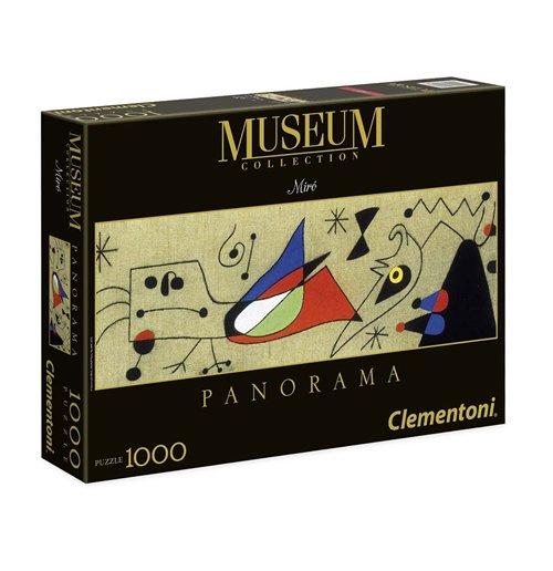 Image of Puzzle - Modern Art 1000 Pz - Miro' - Donna E Uccello Nella Notte