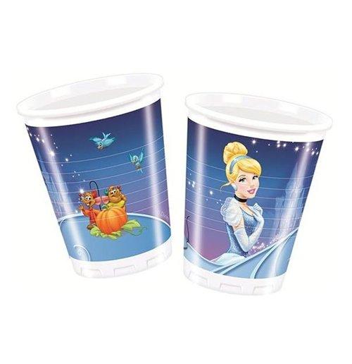 Image of Cenerentola - 8 Bicchieri Di Plastica