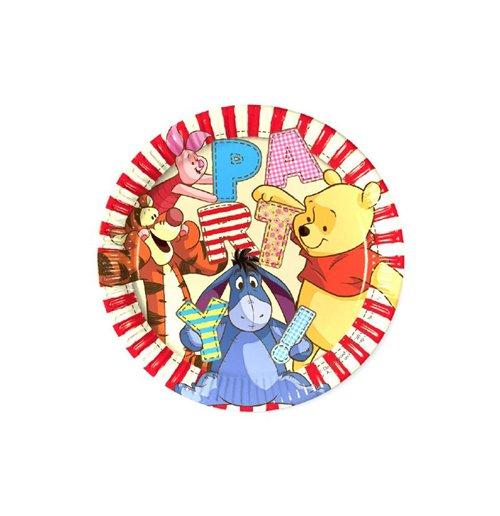 Image of Winnie The Pooh - 8 Piatti 23 Cm