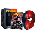 dc-comics-replik-deathstroke-maske-buch-set