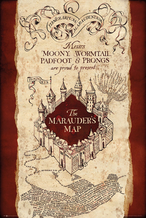poster-harry-potter-marauders-map