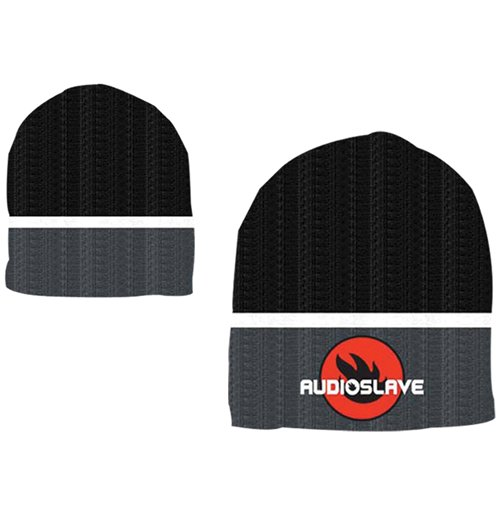 Image of Audioslave - Black Gray Textured (Berretto)