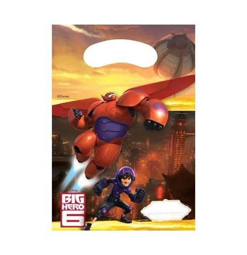 Image of Big Hero 6 - 6 Sacchettini