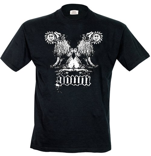 Image of Down - Double Lion (T-SHIRT Uomo )
