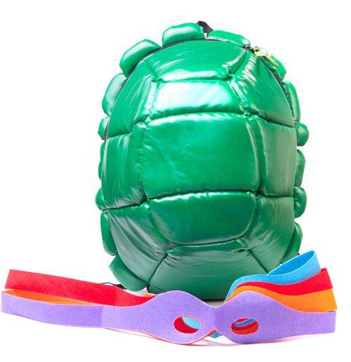 Teenage Mutant Ninja Turtles (Zaino Guscio Con Maschere)