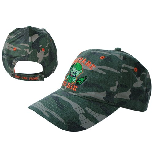 Image of Happy Tree Friends - Camo & Pink Adj Cap (cappellino)