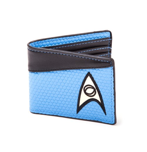 Image of Star Trek - Bifold Blue Science Logo (Portafoglio)