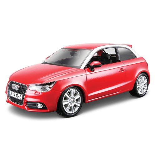 Image of Bburago - Audi A1 1:24 (Rosso / Nero)