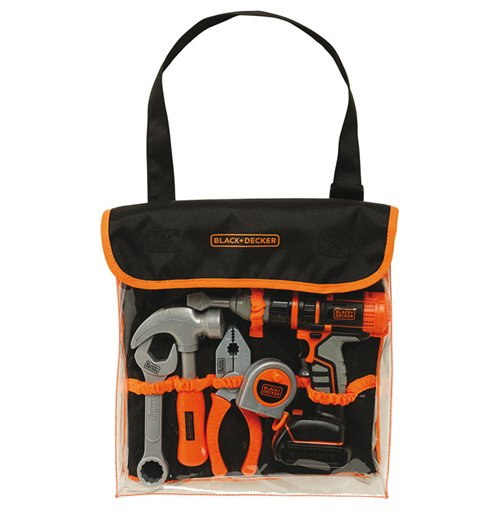 Image of Black+Decker - Borsa Bricolage Con 5 Attrezzi